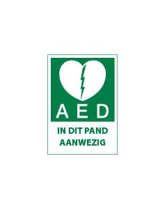 AED in dit Pand Aanwezig